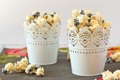 Blueberries & Cream Popcorn