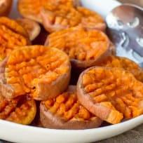 Smashed Sweet Potatoes Recipe