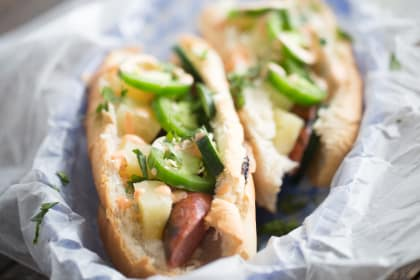 Sweet and Spicy Sausage Subs