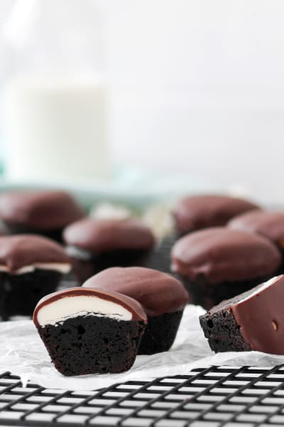 Peppermint Patty Brownie Bites Pic