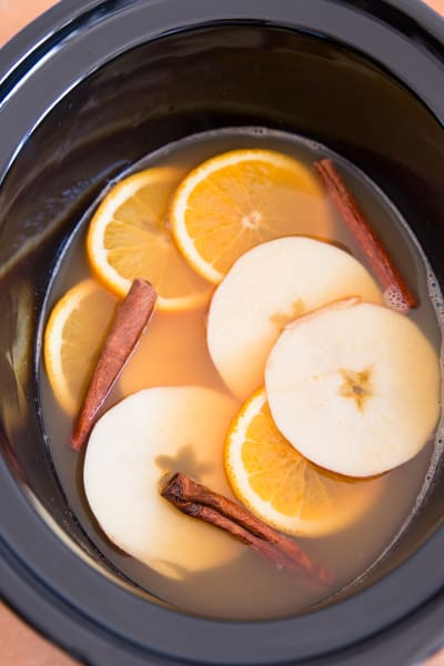 Slow Cooker Spiced Apple Cider with Orange Picture