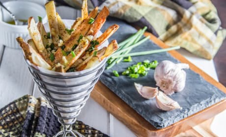 Herb & Garlic Oven Fries Recipe