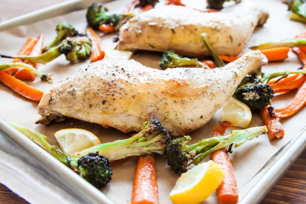 One Pan Roasted Chicken & Vegetables Photo
