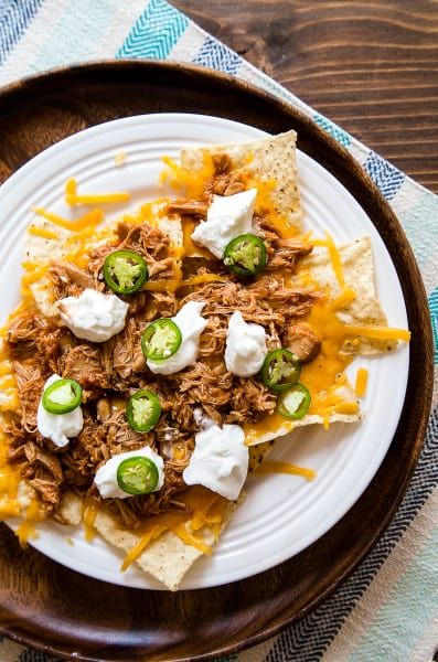 Shredded Chicken Nachos for Two Picture