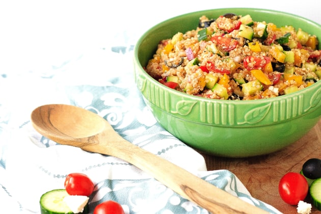 Easy Greek Quinoa Salad Photo