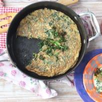 Thai Kale Omelette