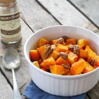 Vanilla Roasted Butternut Squash and Pecans Recipe