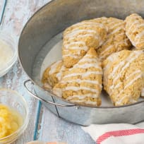 Piña Colada Scones Recipe