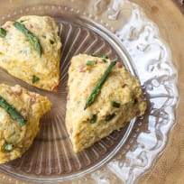Ham Asparagus Scones Recipe