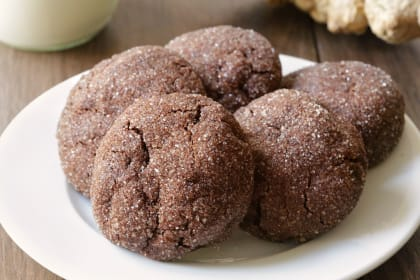 Gluten Free Chocolate Ginger Cookies