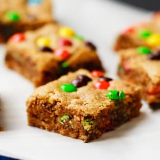 Oatmeal peanut butter bars photo