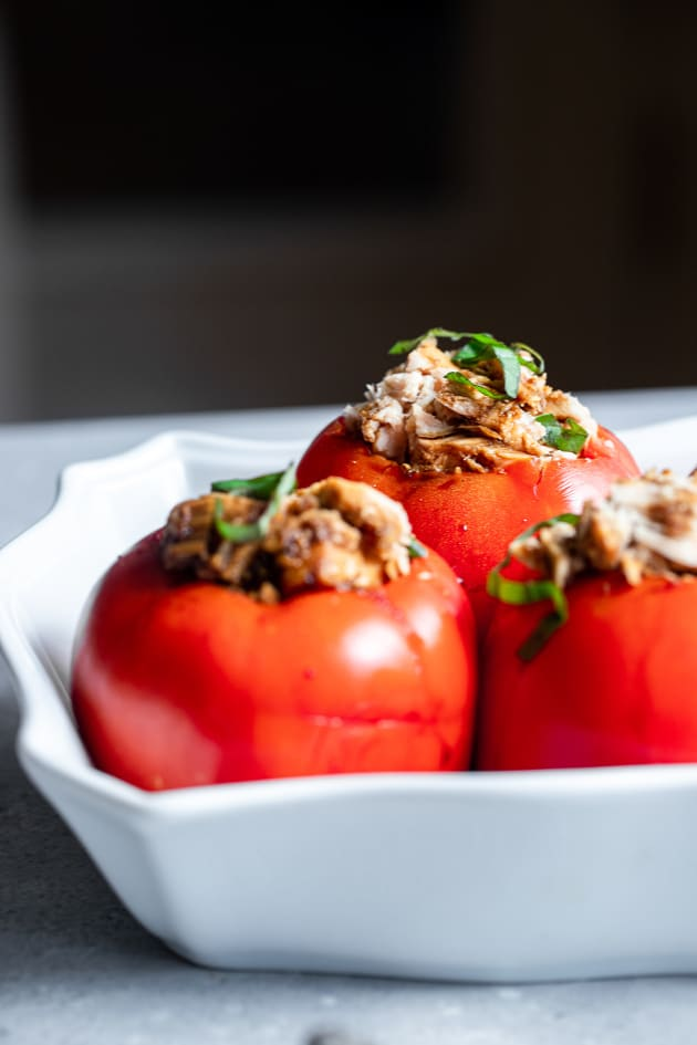 Tuna Stuffed Tomatoes Picture