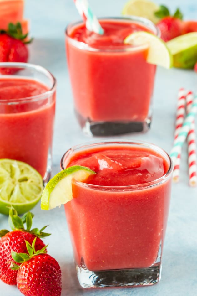 Strawberry Watermelon Smoothie Picture