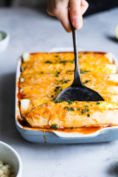 File 2 - Healthy Chicken Enchiladas