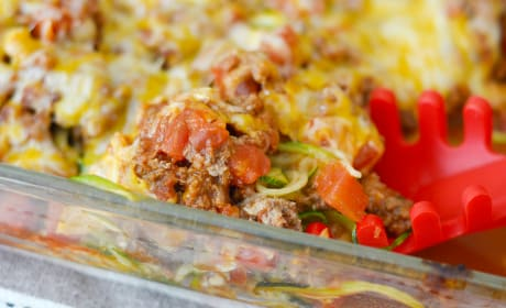 Taco Zoodle Casserole Pic