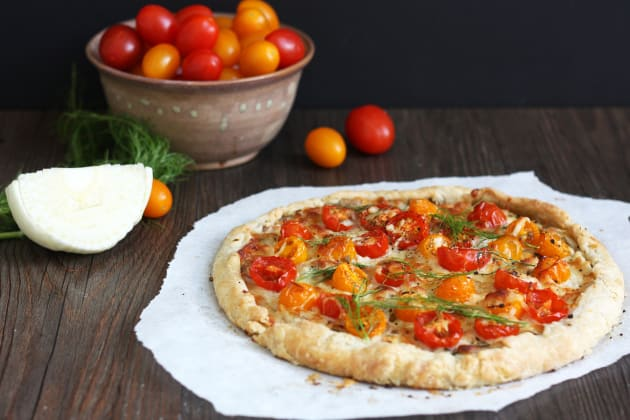 Tomato Fennel Tart Photo