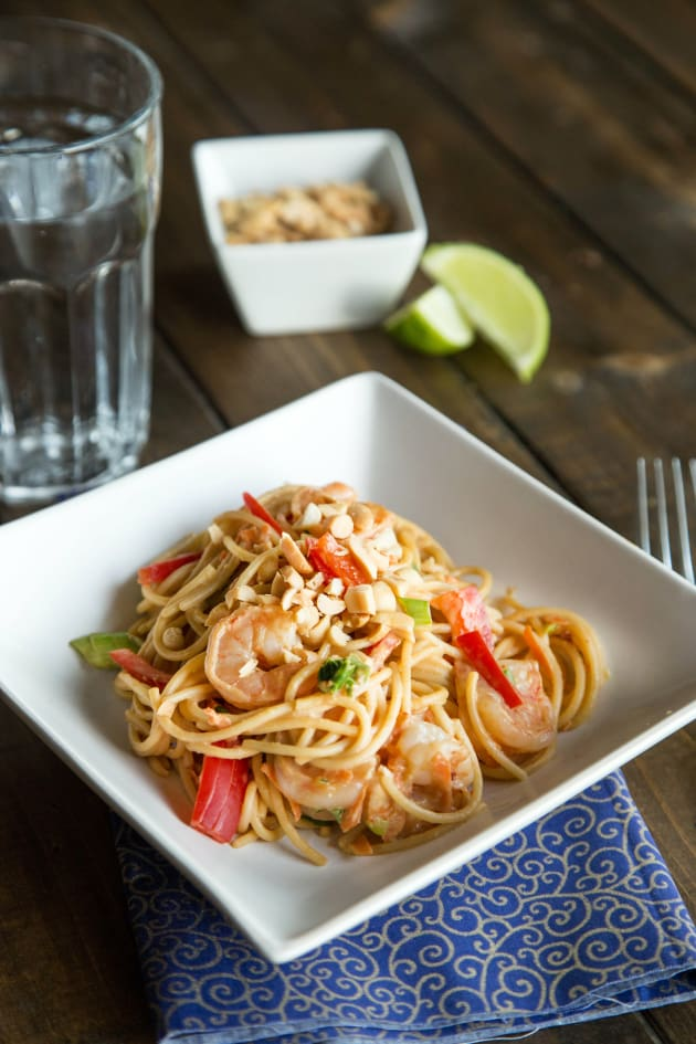 Peanut Noodles: Easy Asian Supper