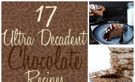 17 Ultra Decadent Chocolate Recipes