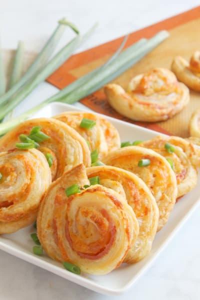 Bacon Cheddar Pinwheels Image