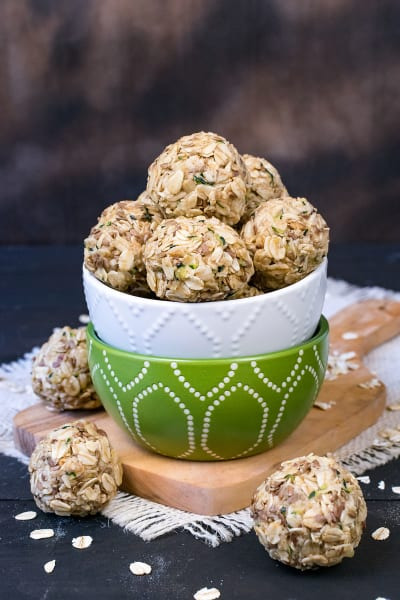 Spiced Zucchini Oatmeal Bites Picture