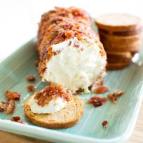 Bacon Goat Cheese Log Recipe