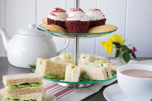 English Tea Sandwiches Picture