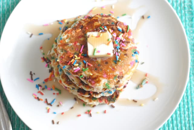 Gluten Free Funfetti Pancakes Recipe