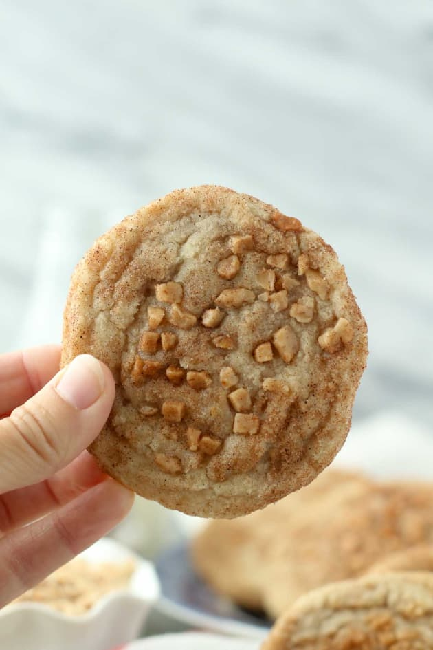 Toffee Snickerdoodles Image