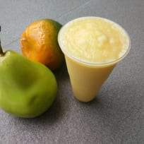 Pear- orange smoothie
