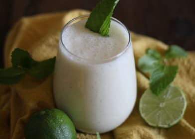 Mojito Smoothie from Delicious Probiotic Drinks & Giveaway!