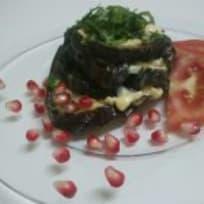 Baked Eggplants with cheese