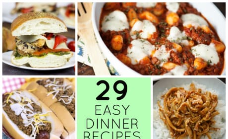 29 Easy Recipes for Dinner Tonight