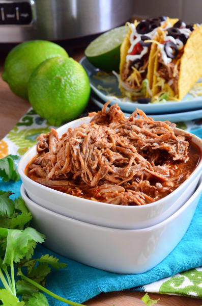 Slow Cooker Shredded Chicken Tacos Picture