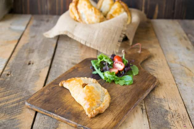 Traditional Cornish Pasty Photo