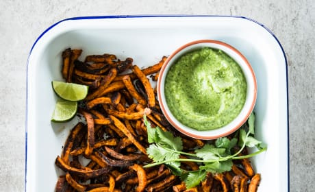 Mexican Sweet Potato Fries Recipe