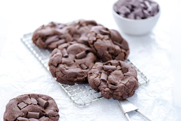 Gluten Free Double Chocolate Chunk Cookies Photo
