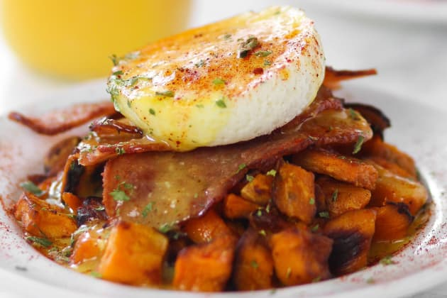 Sweet Potato Benedict Skillet Photo