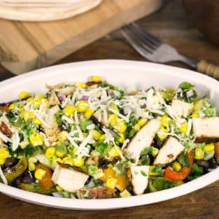 Chipotle burrito bowl photo