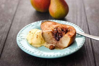 Toaster Oven Baked Pears Recipe