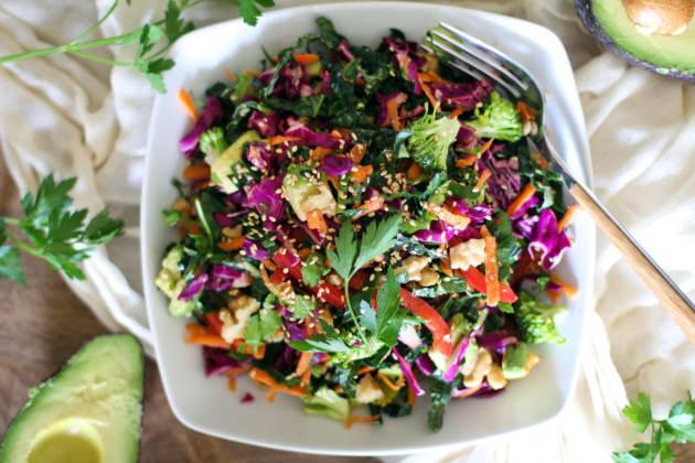 Detox Kale Salad Photo