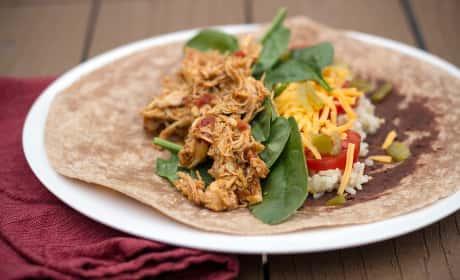 Healthy Chicken Burritos Recipe