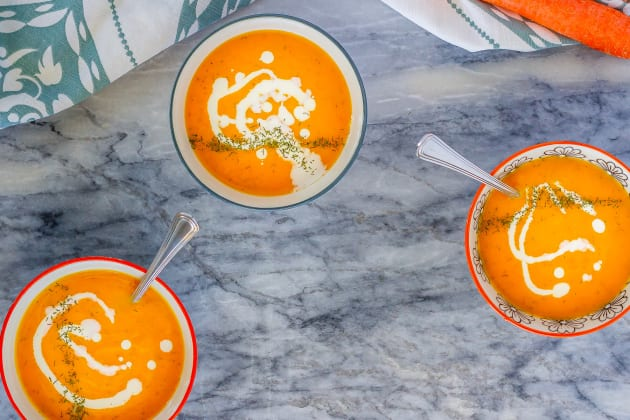 Carrot Soup Photo