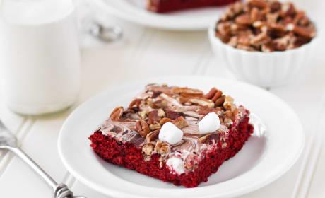 Red Velvet Mississippi Mud Cake Recipe