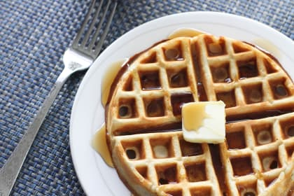 Overnight Yeast Waffles: Belgian Batter Up!