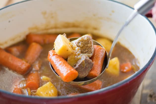 Traditional Irish Stew Photo