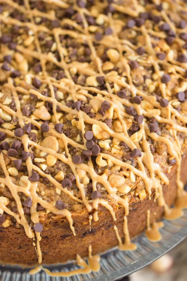 Chocolate Peanut Butter Coffee Cake Picture