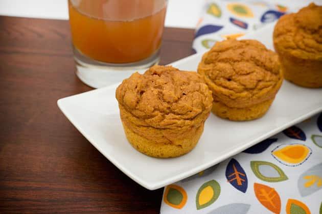 Whole Wheat Pumpkin Muffins Photo