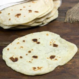 Homemade tortillas photo
