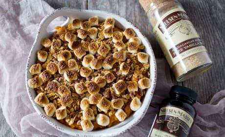 Vanilla Sweet Potato Casserole Recipe