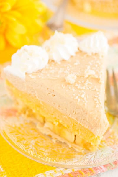 Banana Pudding Peanut Butter Pie Pic
